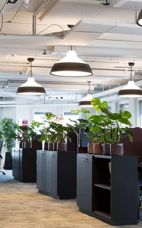 Hanglamp voor op kantoor