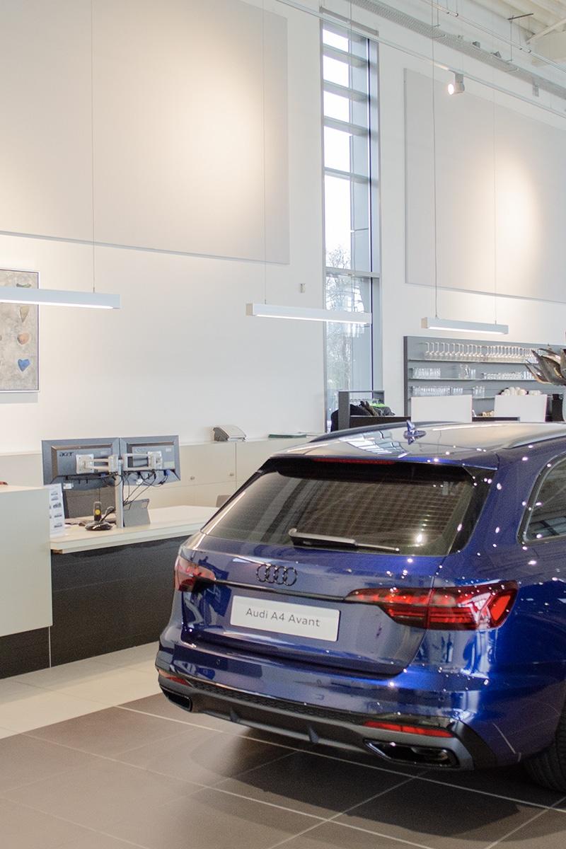 Auto Flevo Harderwijk - Showroom verlichting