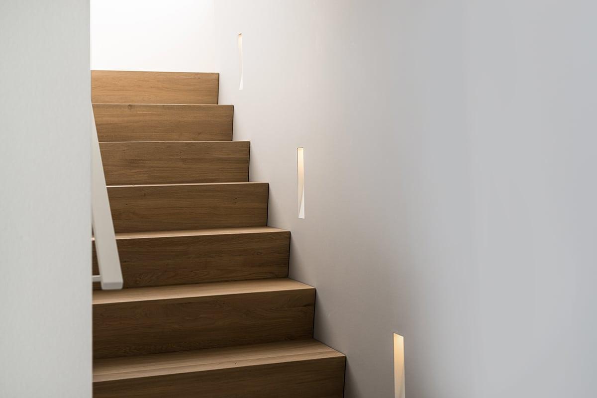 Inbouwverlichting trap
