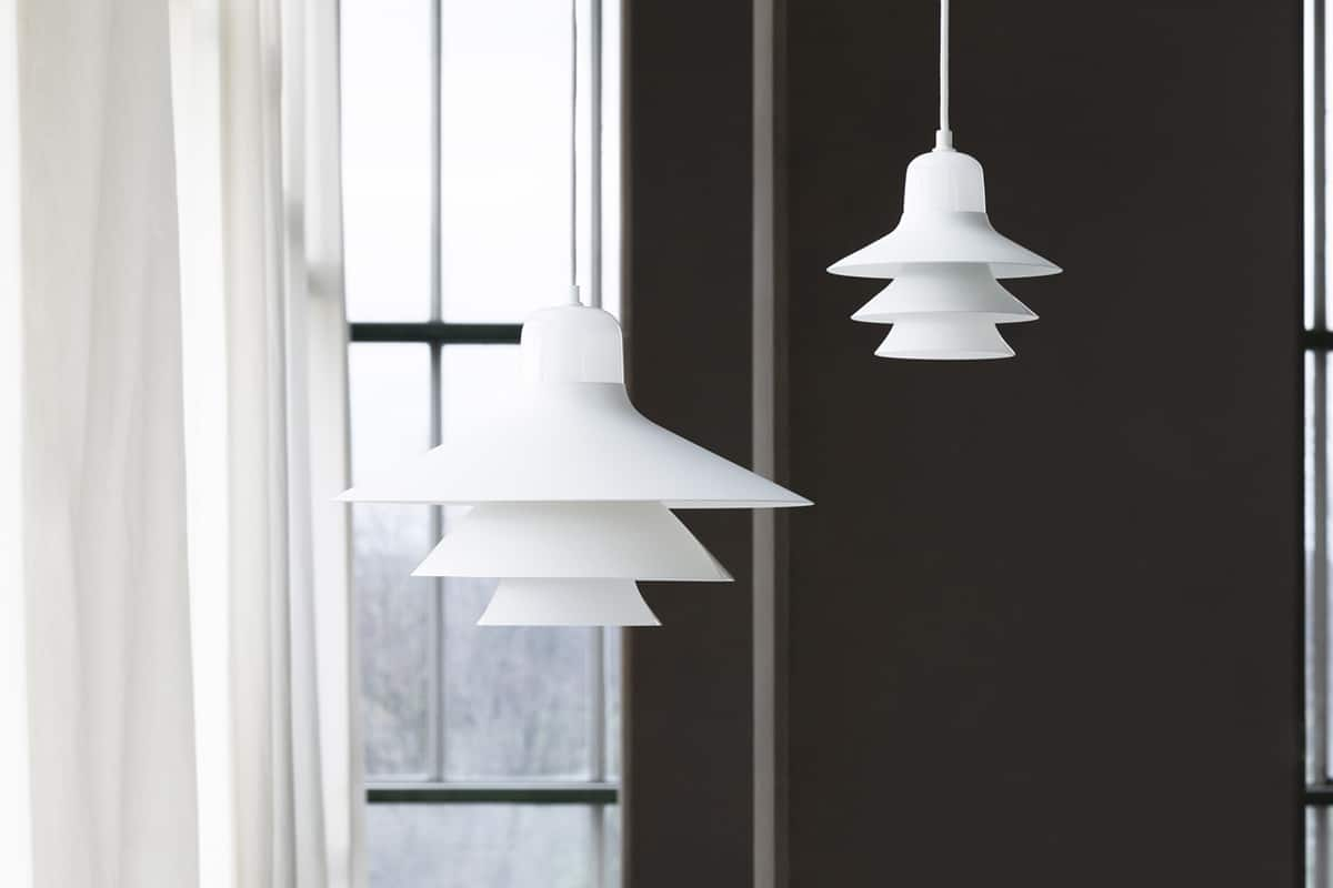Hanglamp gelaagd