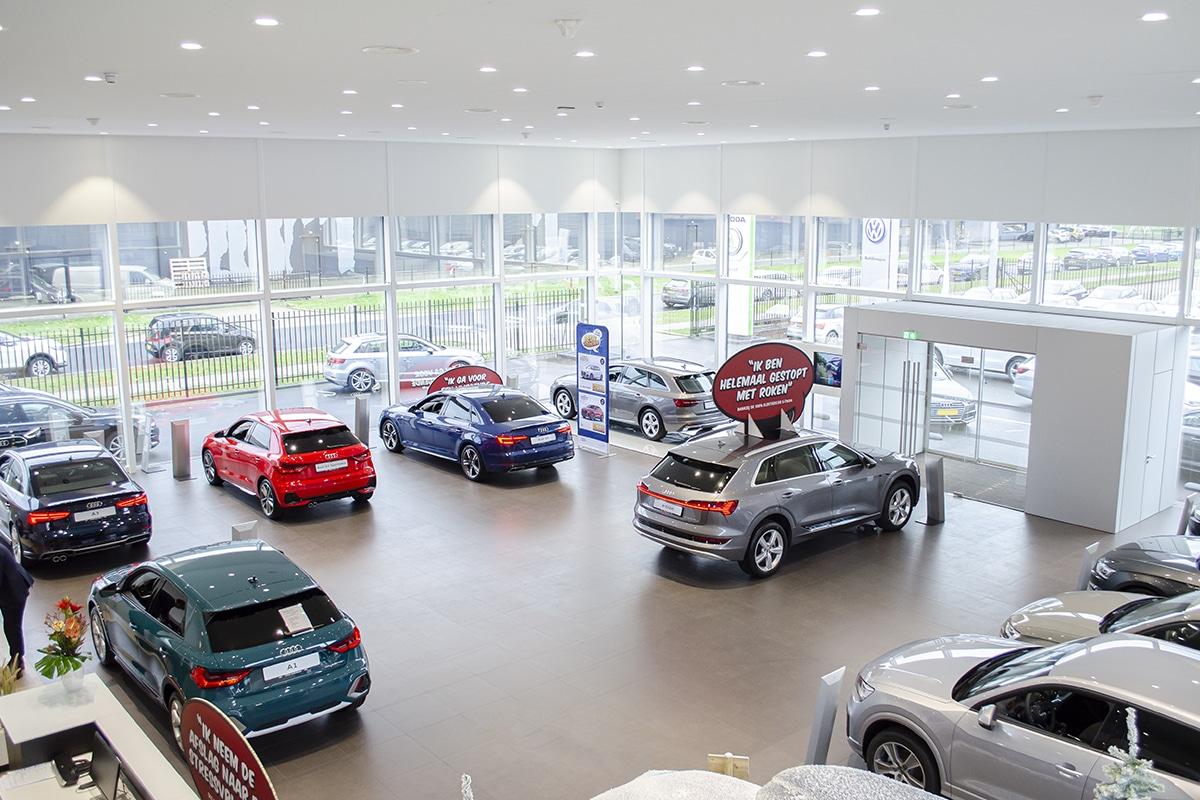 A-Point Almere - Verlichting voor de automotive sector en autoshowrooms