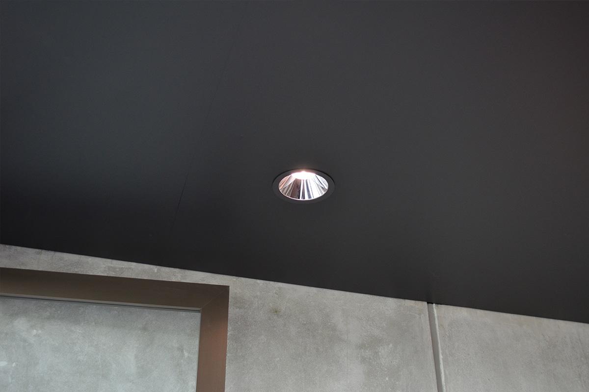 Barrisol Spanplafond Met Verlichting