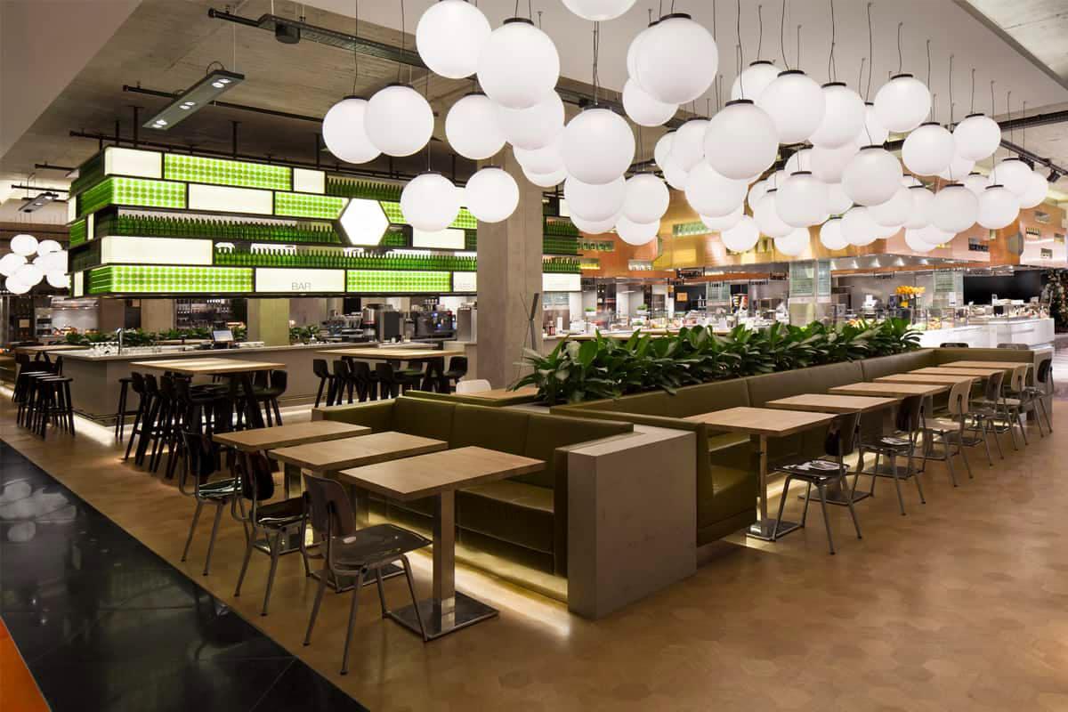 Bijenkorf Eindhoven Restaurant Verlichting Lightboxx