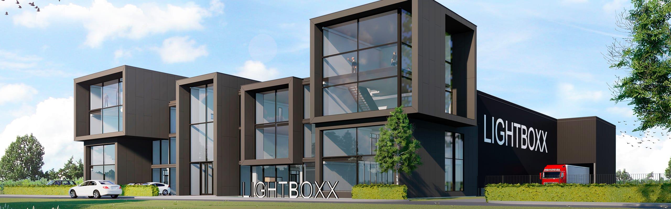 Bouw Duurzaam Bedrijfspand Lightboxx Nijkerk Van Start