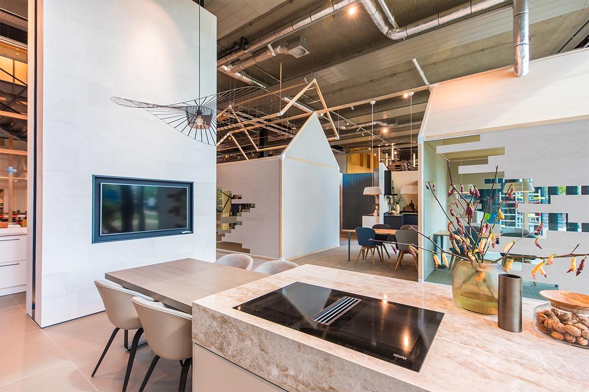 Dura Vermeer kantoor en showroom verlichting van Lightboxx