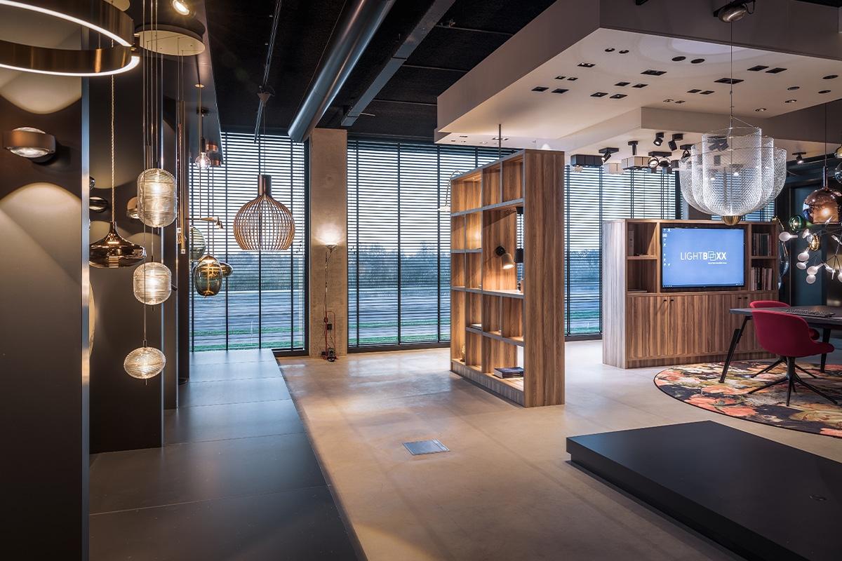Experience Center Lightboxx Nijkerk - Showroom Design Verlichting Langs De A28