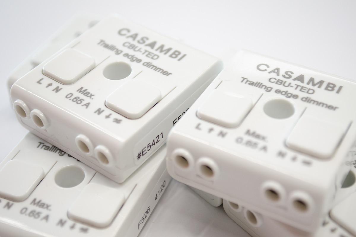 Casambi CBU-TED Bluetooth Dimmer Handleiding