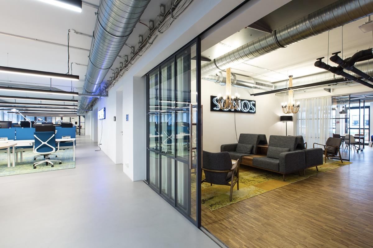 Lichtplan hoofdkantoor Sonos München