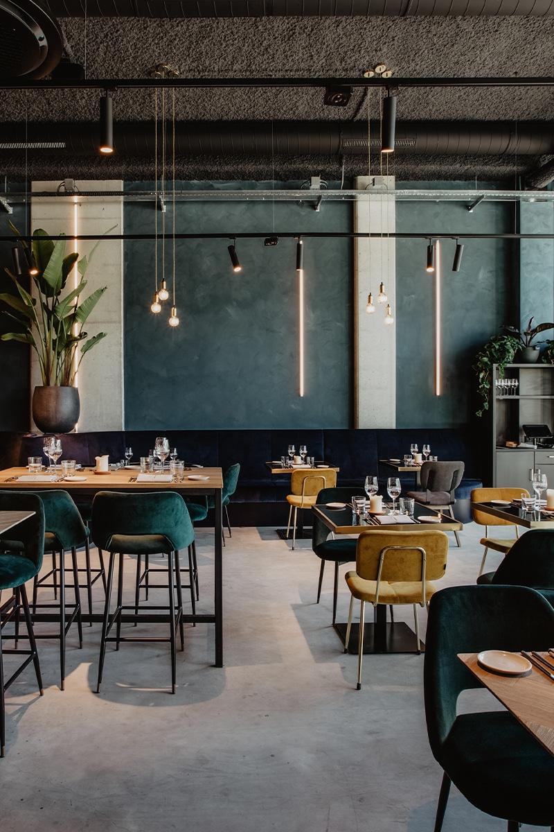 Lichtplan Restaurant