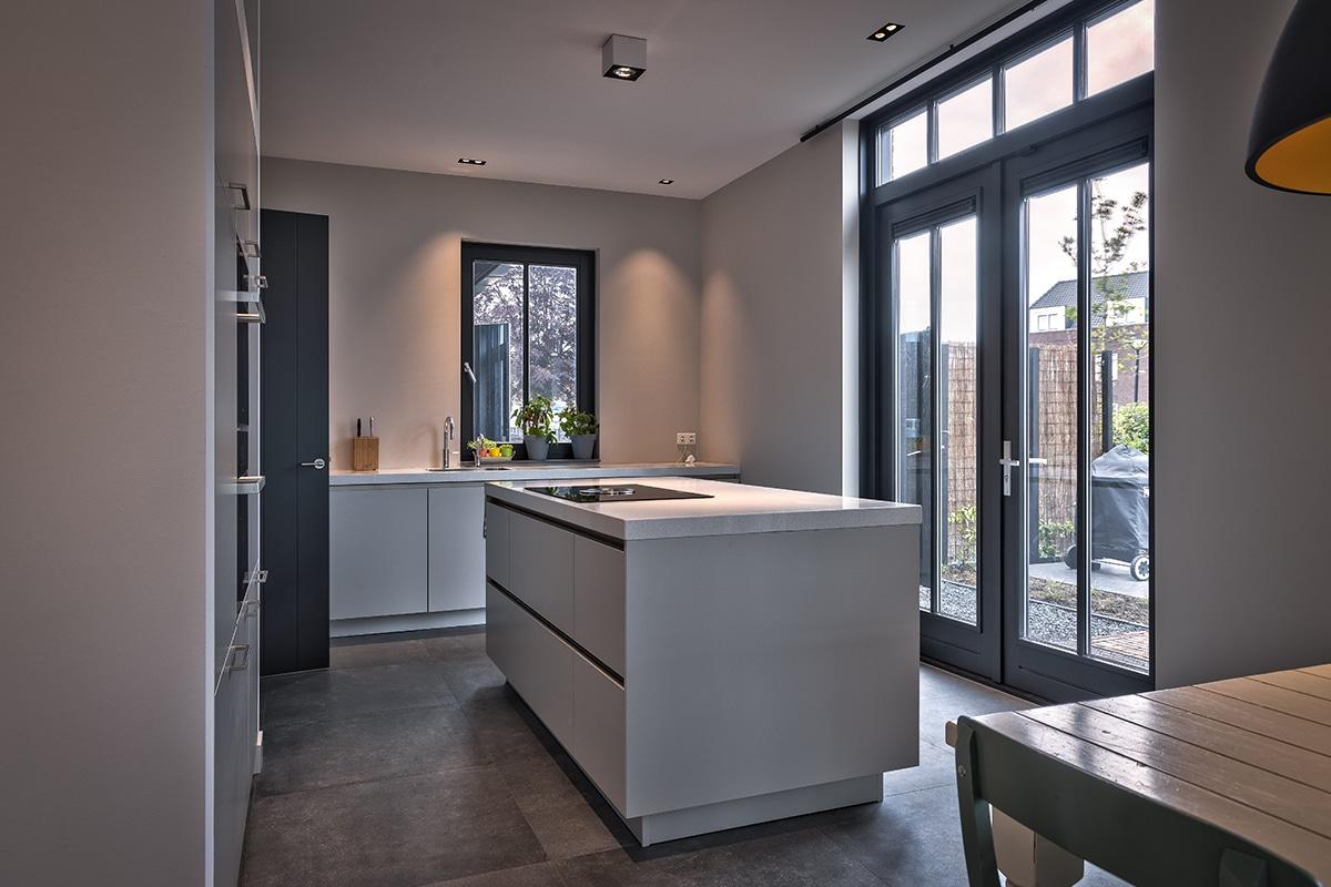 Lichtplan villa Hoogland Amersfoort Fam. van Lunteren
