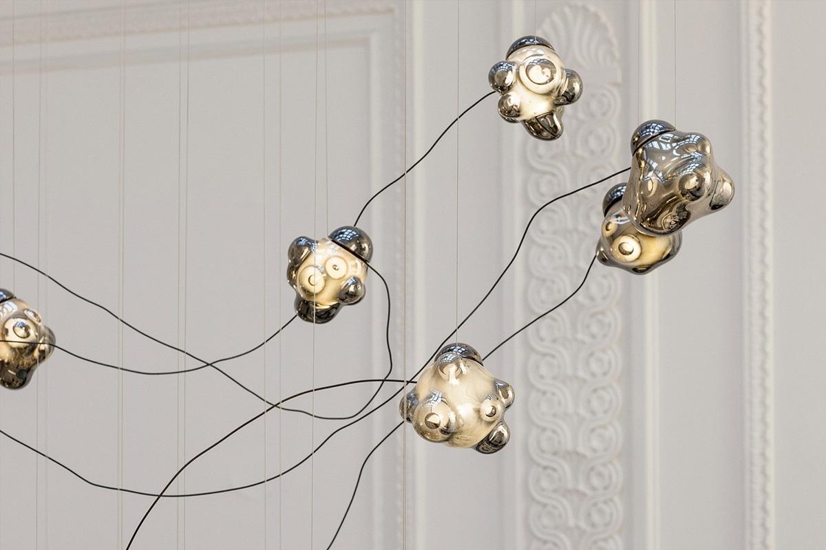 Bocci 57 Semi Rigid hanglamp