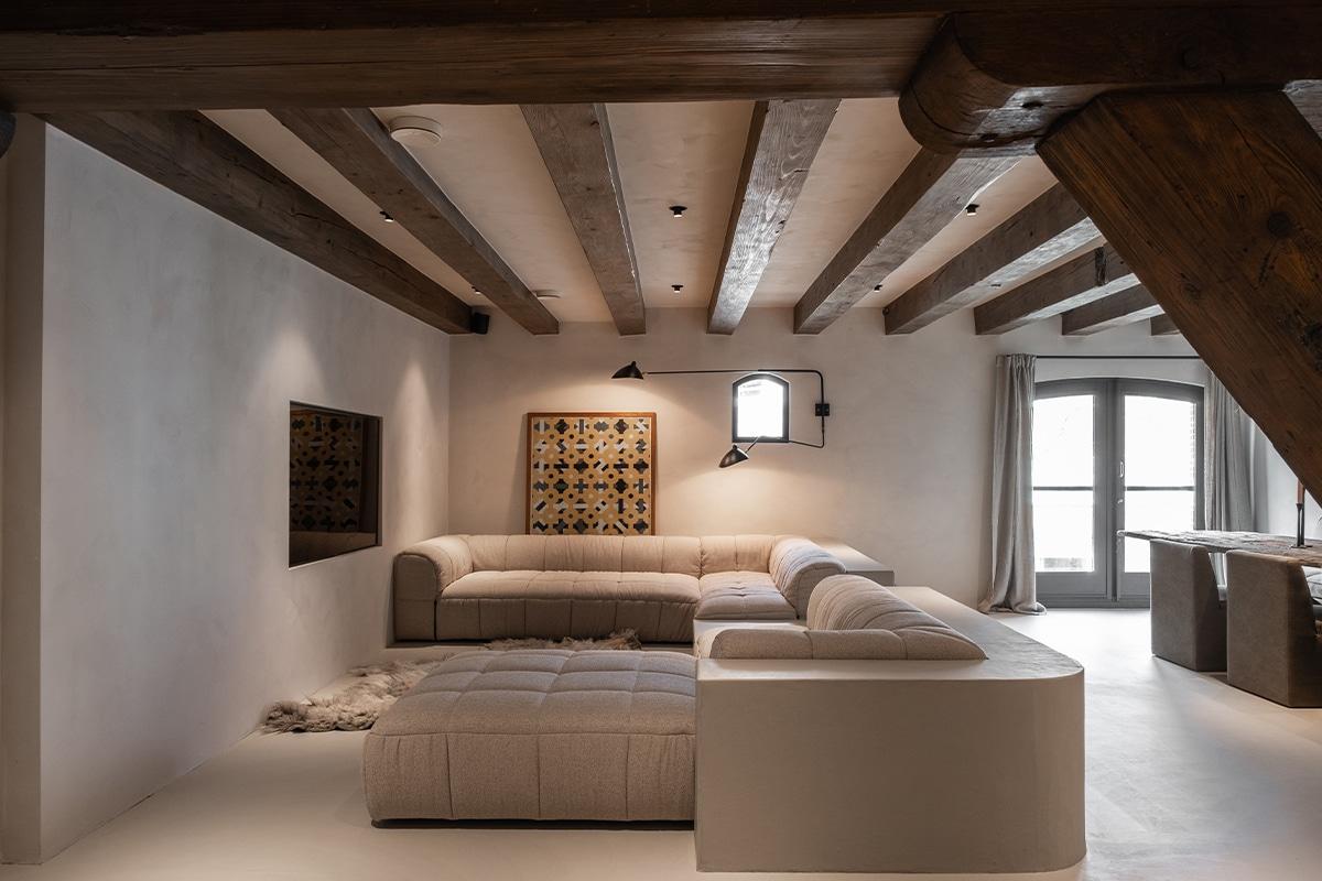Design wandlamp woonkamer