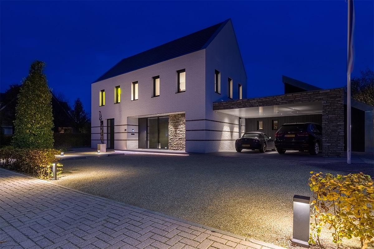 Moderne Villatuin Oeffelt