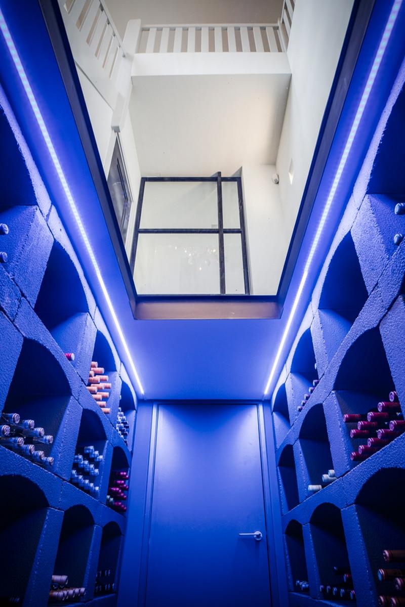 Verlichting wijnkelder