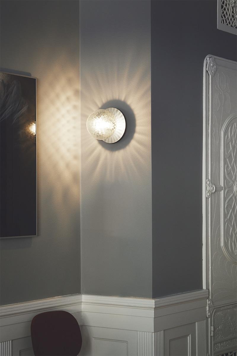 Wandlamp glas