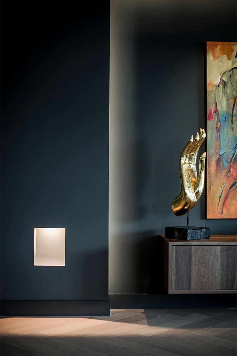 Stijvolle penthouse Nieuwegein verlichting door Lightboxx