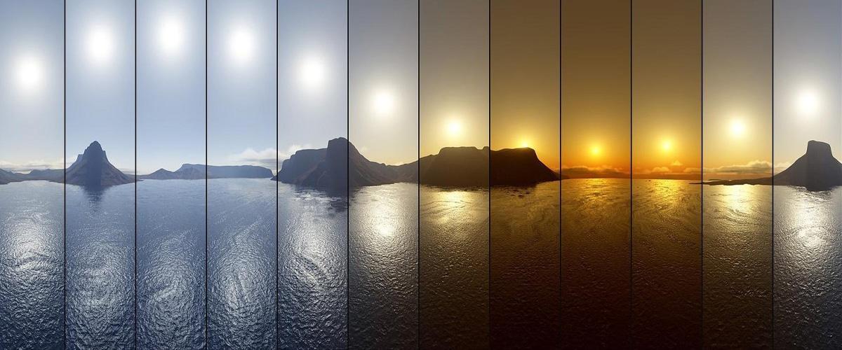 Het Verloop Van Daglicht - Biodynamisch Licht